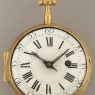 Zwitsers 'Oignon' zakhorloge, gesigneerd 'Amed Marchand a Geneve'. ca 1700